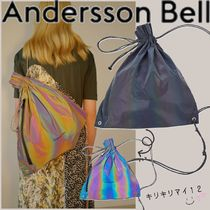ANDERSSON BELL Unisex A4 Tribal Shoulder Bags