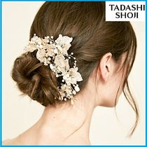TADASHI SHOJI Flower Patterns With Jewels Wedding Jewelry