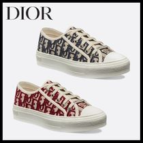 Christian Dior Casual Style Unisex Street Style Low-Top Sneakers