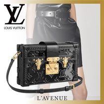 Louis Vuitton PETITE MALLE Monogram Casual Style Blended Fabrics Street Style 2WAY