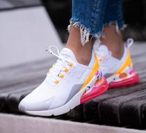 Nike AIR MAX 270 Flower Patterns Casual Style Street Style Low-Top Sneakers