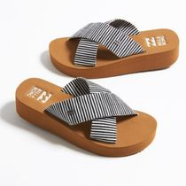 Billabong Stripes Platform Platform & Wedge Sandals