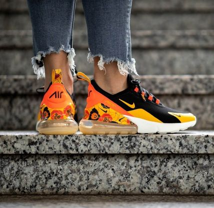 Nike AIR MAX 270 2019 SS Flower Patterns Casual Style Street Style Low Top Sneakers (AR0499 005)