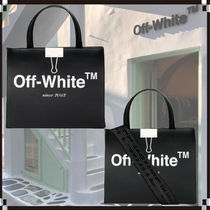 Off-White Casual Style 2WAY Totes
