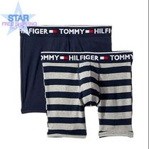 Tommy Hilfiger Stripes Plain Cotton Boxer Briefs