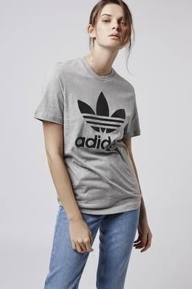 adidas Crew Neck Crew Neck Unisex Street Style Plain Cotton Short Sleeves 15