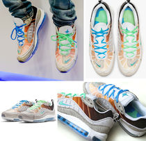 Nike AIR MAX 98 Unisex Blended Fabrics Street Style Collaboration Leather