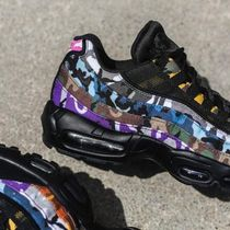 Nike AIR MAX 95 Blended Fabrics Street Style Sneakers