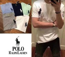 POLO RALPH LAUREN Plain Cotton T-Shirts