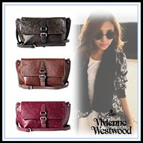 Vivienne Westwood Casual Style Blended Fabrics Leather Party Style