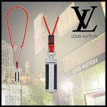 Louis Vuitton DAMIER COBALT Monogram Unisex Blended Fabrics Necklaces & Chokers