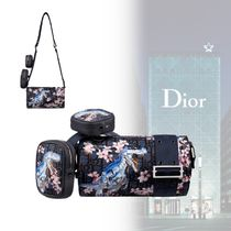 Christian Dior Flower Patterns Unisex Nylon Street Style Collaboration 3WAY