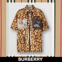 Burberry Other Animal Patterns Cotton Medium Short Sleeves