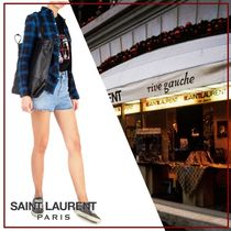 Saint Laurent Other Check Patterns Long Sleeves Cotton Shirts & Blouses