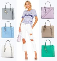 MARC JACOBS Street Style 2WAY Plain Leather Totes