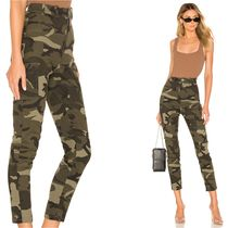 Lovers&Friends Camouflage Casual Style Cotton Medium Skinny Pants