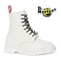 Dr Martens 1460 Unisex Blended Fabrics Street Style Collaboration Plain