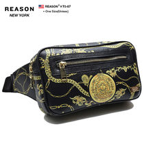 REASON Skull Flower Patterns Unisex Street Style 2WAY Chain