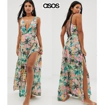ASOS Tropical Patterns Beach Cover-Ups