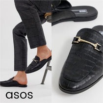 ASOS Loafers Faux Fur Other Animal Patterns Loafers & Slip-ons