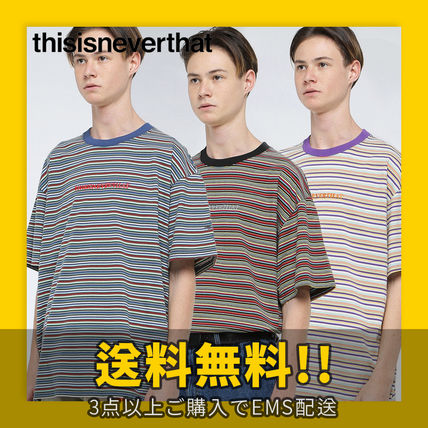 thisisneverthat More T-Shirts Cotton Short Sleeves T-Shirts