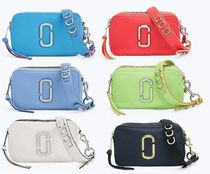 MARC JACOBS Softshot Casual Style 2WAY Plain Leather Shoulder Bags