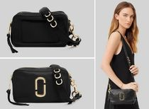 MARC JACOBS Softshot Casual Style 2WAY Plain Leather Crossbody Shoulder Bags