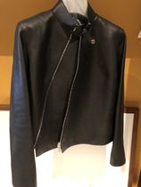 HERMES Kelly Plain Leather Medium Handmade Biker Jackets