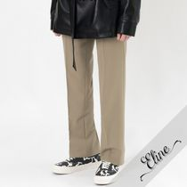 HI FI FNK Slax Pants Street Style Plain Oversized Slacks Pants