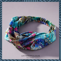 Anthropologie Blended Fabrics Collaboration Handmade Party Style Headbands