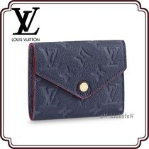 Louis Vuitton MONOGRAM EMPREINTE Monogram Unisex Street Style Leather Folding Wallets