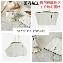 State of Escape Casual Style Collaboration A4 Totes