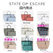 State of Escape Casual Style 2WAY Crossbody Totes