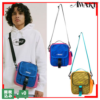 Casual Style Unisex Street Style 3WAY Plain Shoulder Bags