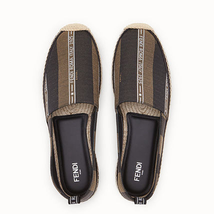 FENDI Loafers & Slip-ons Stripes Street Style Loafers & Slip-ons 2