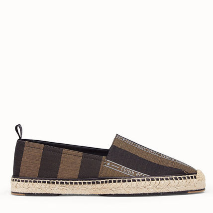 FENDI Loafers & Slip-ons Stripes Street Style Loafers & Slip-ons 3