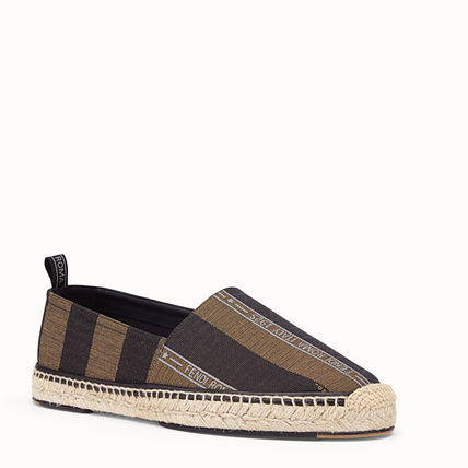 FENDI Loafers & Slip-ons Stripes Street Style Loafers & Slip-ons 4