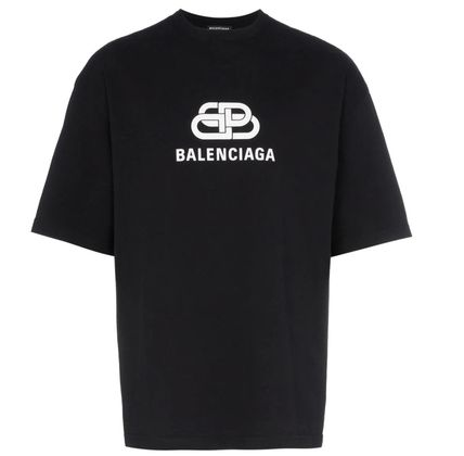 BALENCIAGA Crew Neck Crew Neck Cotton Short Sleeves Crew Neck T-Shirts 6