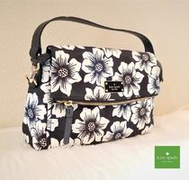 kate spade new york Flower Patterns Casual Style Nylon Blended Fabrics Handbags