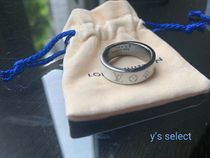 Louis Vuitton Unisex Blended Fabrics Metal Rings