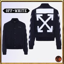 Off-White Short Varsity Jackets