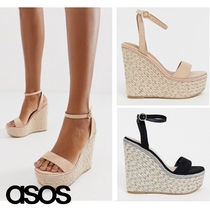 ASOS Casual Style Plain Platform & Wedge Sandals