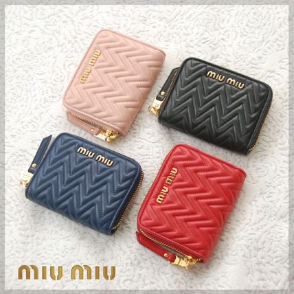 Plain Leather Coin Purses