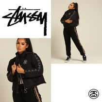 STUSSY Street Style Down Jackets
