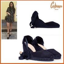 Castaner Round Toe Casual Style Platform & Wedge Sandals
