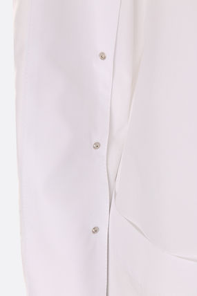 Courreges Shirts & Blouses Long Sleeves Cotton Shirts & Blouses 4