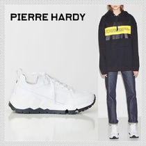 Pierre Hardy Casual Style Plain Chunky Heels Low-Top Sneakers