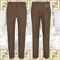 FENDI Printed Pants Patterned Pants
