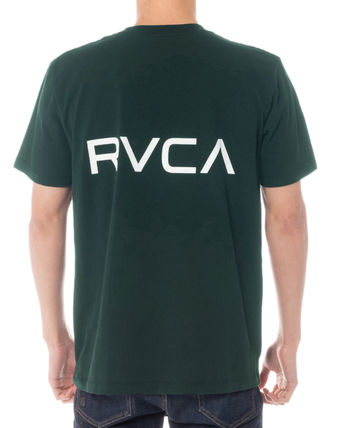 RVCA More T-Shirts Unisex Plain Short Sleeves T-Shirts 10