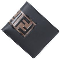 FENDI Calfskin Folding Wallets